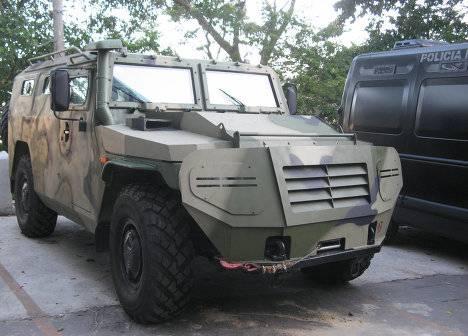 Россия ведет переговоры со Словакией и Бахрейном о поставках бронеавтомобилей «Тигр»