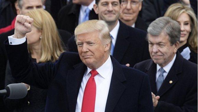"""""""Зловещая"""" инаугурационная речь Трампа встревожила западные СМИ"""