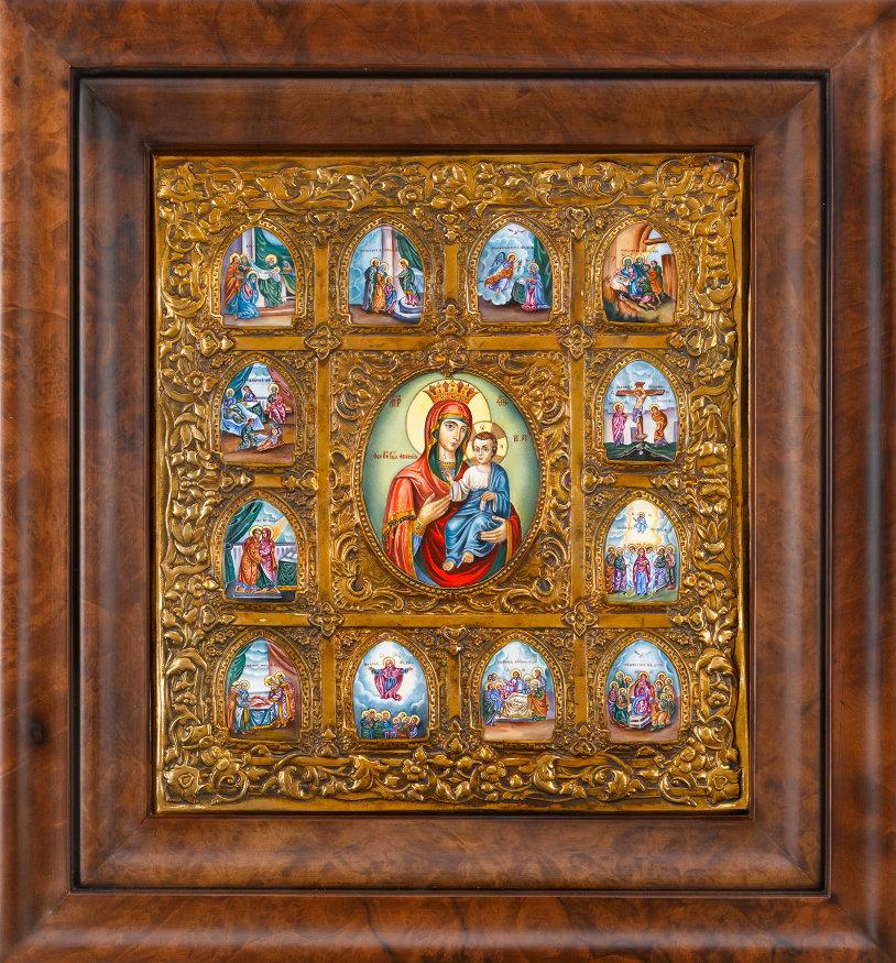 18 Ð°Ð¿Ñ€ÐµÐ»Ñ Ð¿Ñ€Ð°Ð·Ð´Ð½Ð¸Ðº ИверÑкой иконы Божьей Матери – обретение образа на Ðфоне.