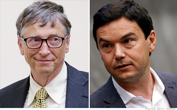 Bill Gates: Piketty's inequality book has 'flaws'