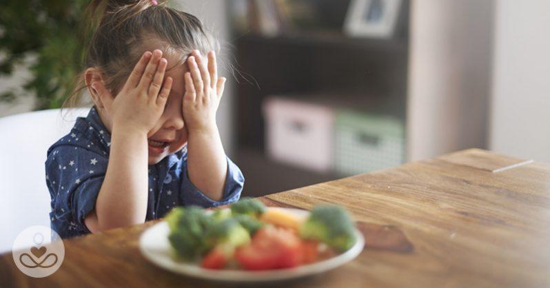 Почему категорически нельзя заставлять детей есть овощи