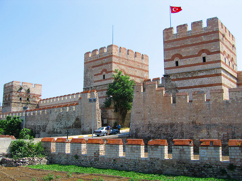 Стены Константинополя