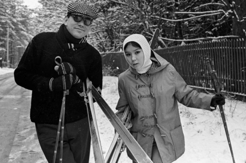 Со второй женой Натальей Аринбасаровой