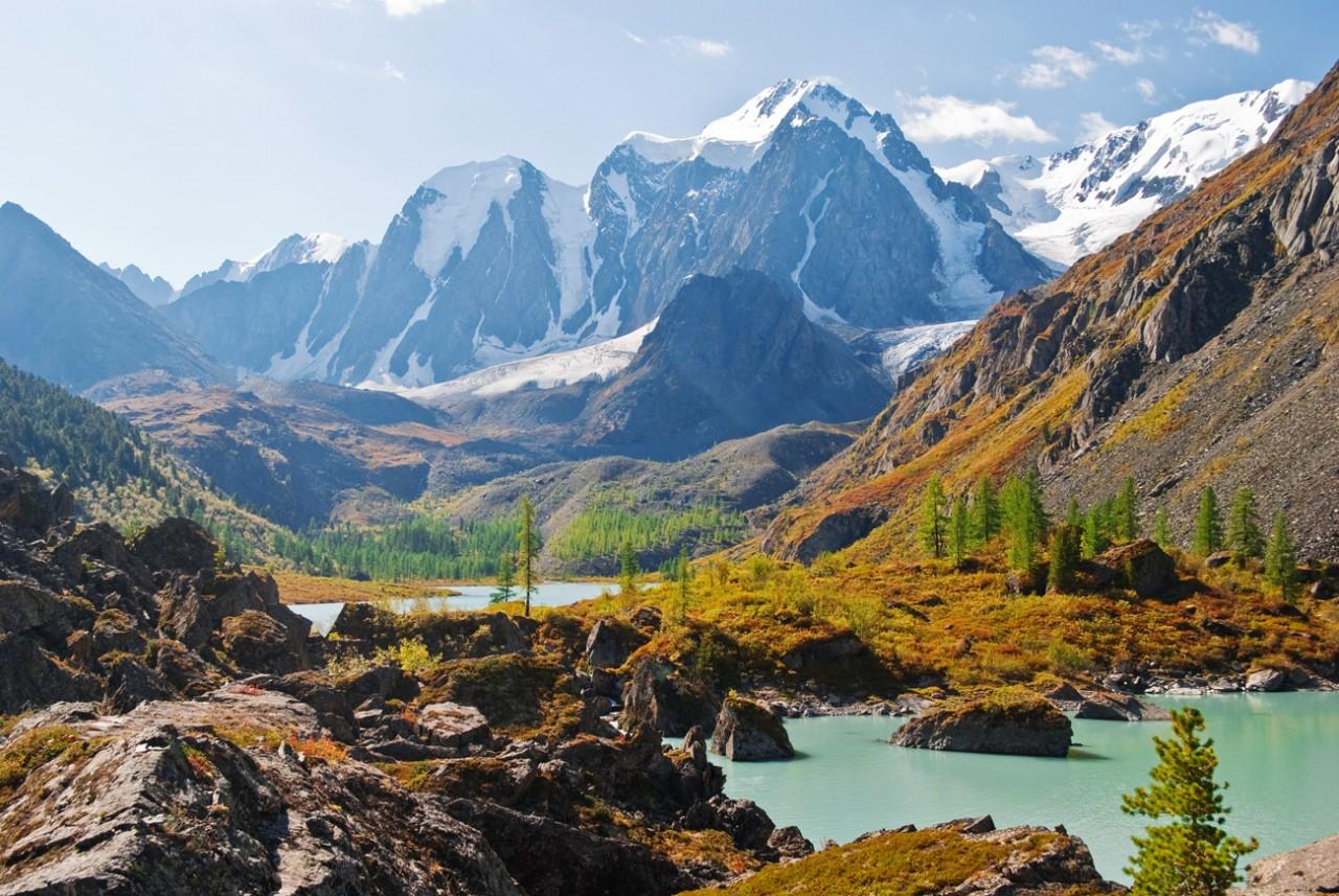 Красоты России. Сказочный уголок Горного Алтая - Шавлинские озера
