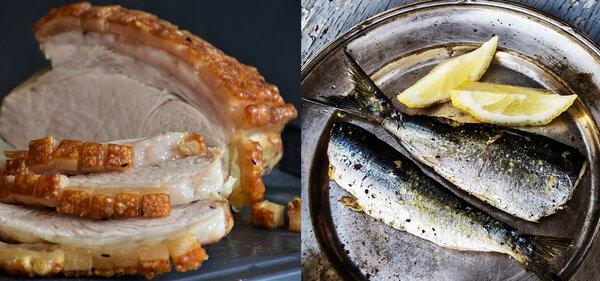 Порция рыбы вместо мяса уменьшает на 17% риск смерти