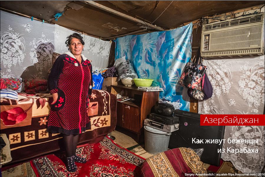 Добро пожаловать в Ад. Как живут в Баку беженцы из Карабаха