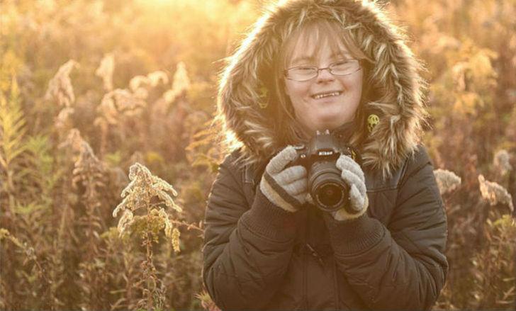 Как видит мир фотограф с синдромом Дауна