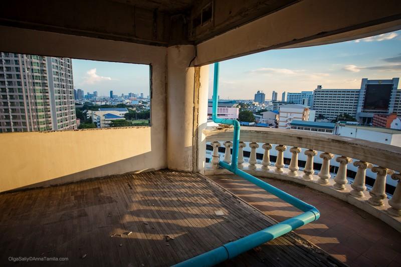 Заброшка в Бангкоке - небоскреб