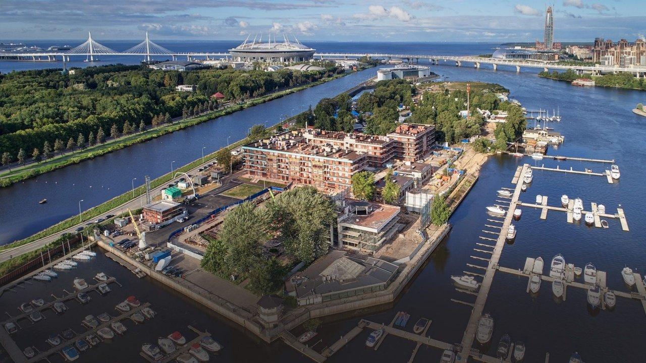 Самая дорогая однокомнатная квартира России находится в Петербурге