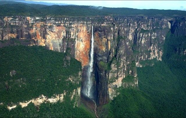 Анхель - самый высокий в мире водопад
