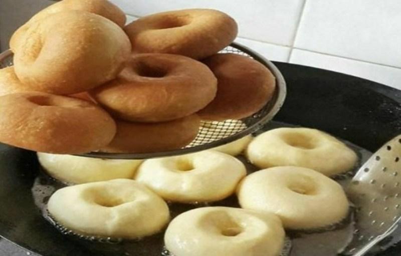 Очень вкусные домашние пончики
