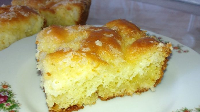 Вкуснейший сахарный пирог