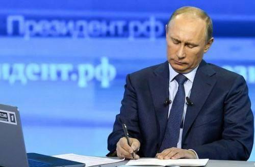 Президент России Владимир Путин озвучил созревшие и подготовленные последними событиями на Украине решения,