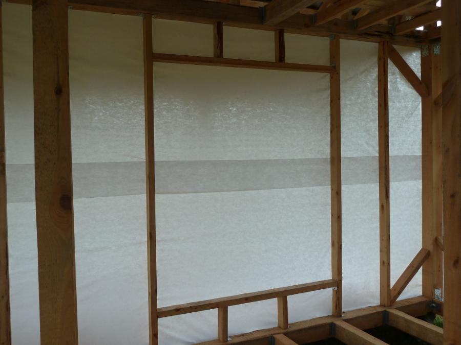 Установка пластикового окна своими руками на веранде 118