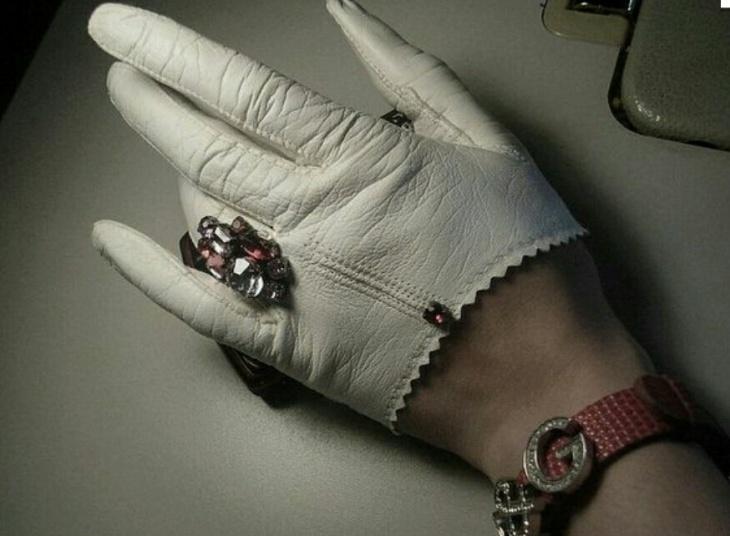 Просто обрезанные перчатки