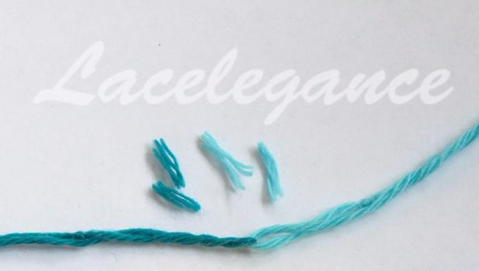 оригинальный способ соединения нитей в вязании как незаметно