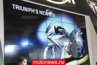 Triumph отложил выпуск 250-кубовых мотоциклов