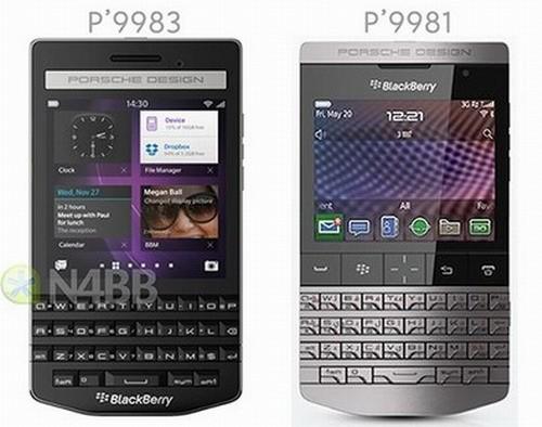 смартфон BlackBerry Porsche Design P9983