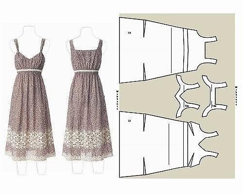 Сшить платье своими руками для начинающих с фото