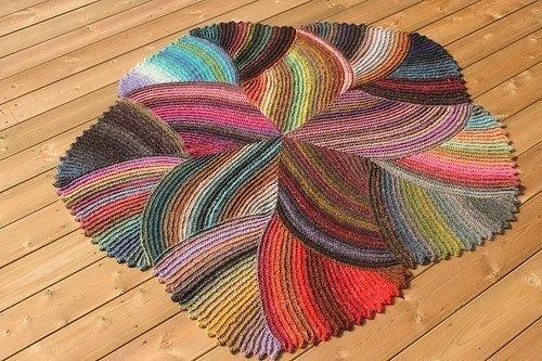 Красивый коврик (+схема)