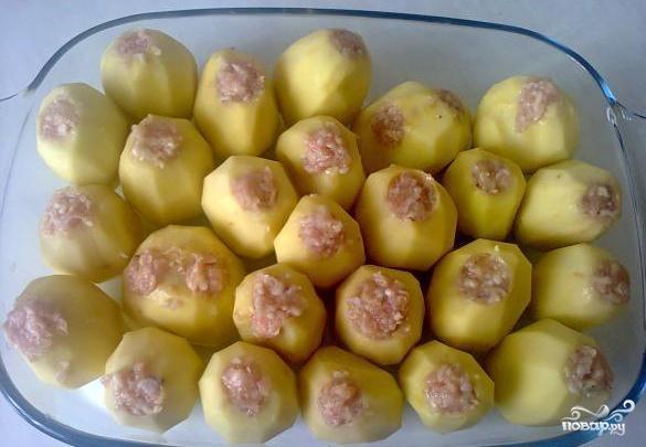 Как сделать картошку с фаршем