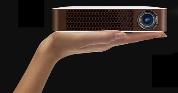 Bluetooth Mini Beam Projector 31 LG представит миниатюрный видеопроектор Bluetooth MiniBeam PW700