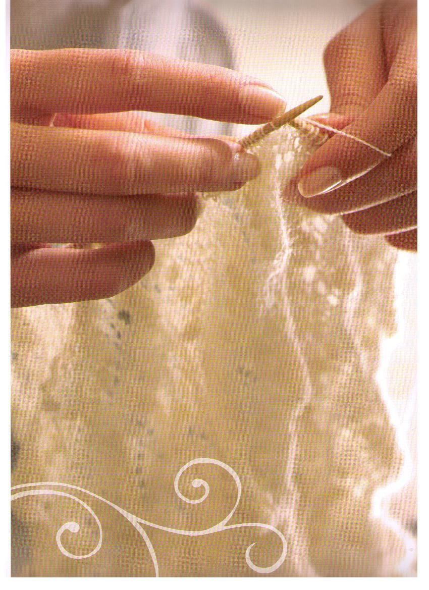 схема вязания рукавиц-эстонских