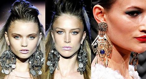 Серьги-люстры — блистательная подсветка вашей изящности и красоты