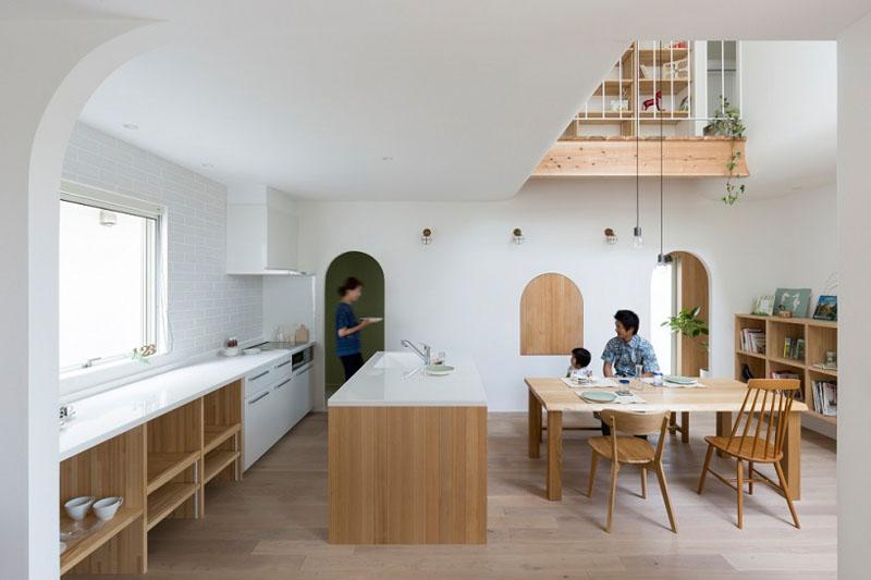 Арки в интерьере дома – изящная архитектура от японских дизайнеров