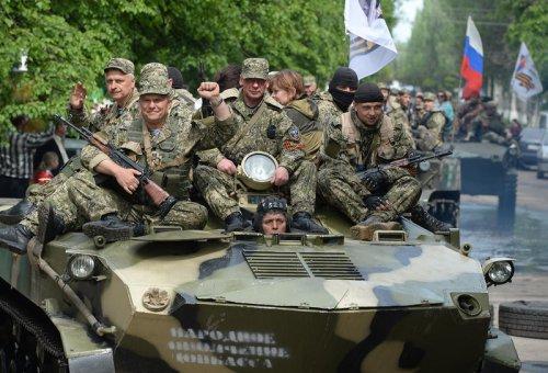 Сухопутный коридор в Крым. Война началась.