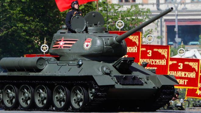 «Т-34» Против посольства Украины в  Вашингтоне