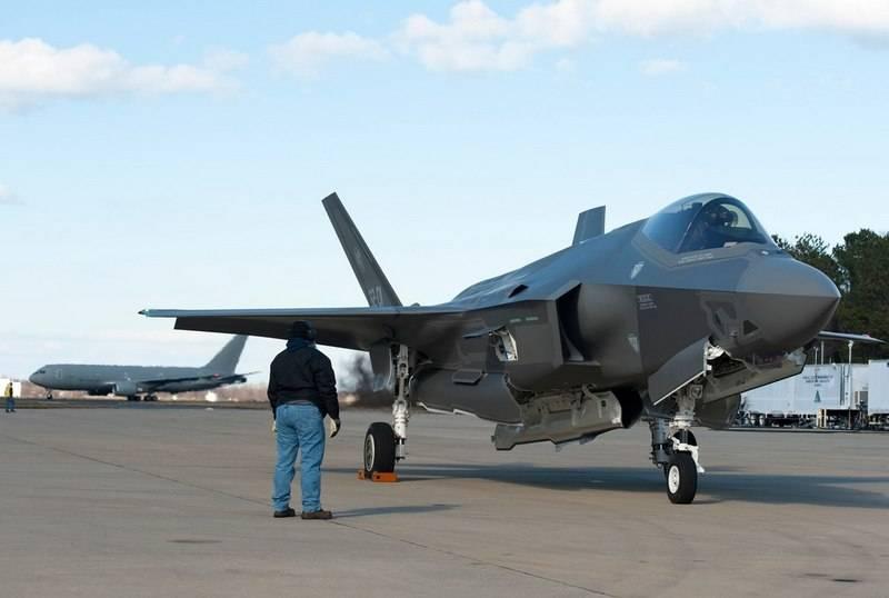 Пентагон не допустил F-35 до…