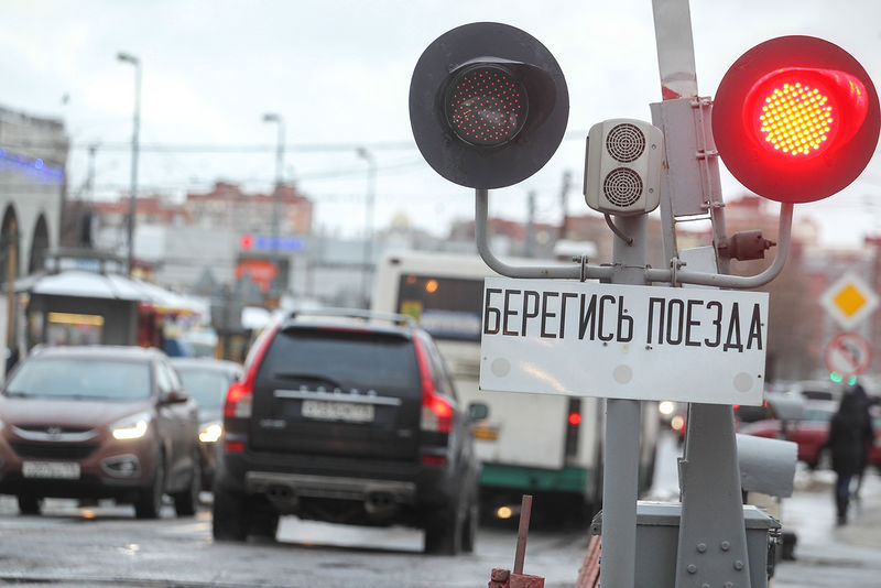 Штраф за нарушения на ж/д переезде вырастет в 5 раз