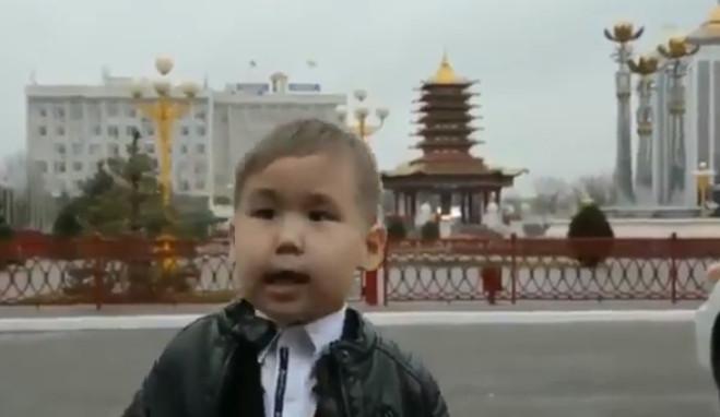 Пятилетний Саша Джеваков «Крепись, Россиюшка, держись!»