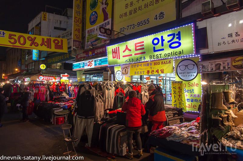 прогулки по вечерним улицам / Фото из Южной Кореи