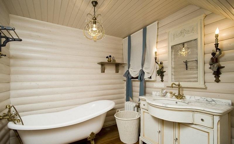 Дизайн ванной комнаты по-японски
