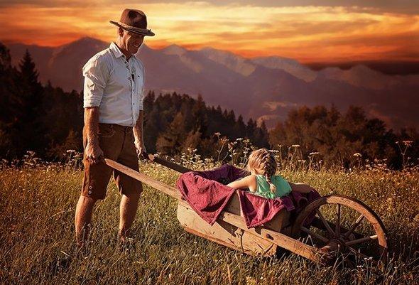 Никогда не наказывайте детей трудом (Труд в радость!)