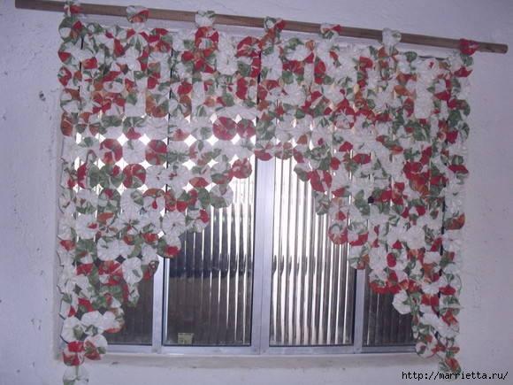 цветочки йо-йо для шторки (24) (580x435, 149Kb)