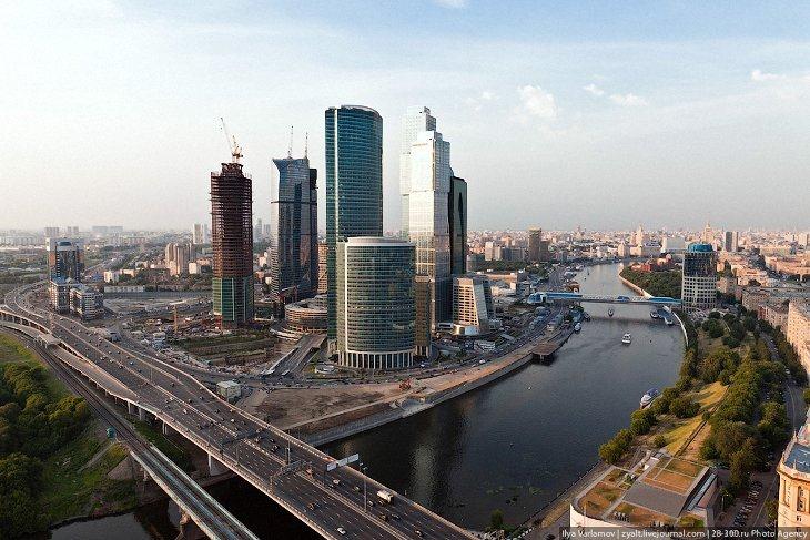 Виды на Москву с Москва-Сити