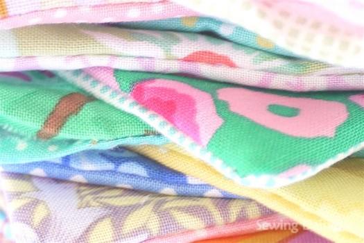 подготавливаем квадраты для шитья одеяла