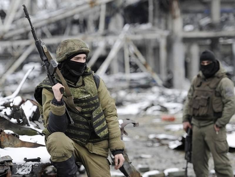 Четверо ополченцев Донбасса погибли в бою