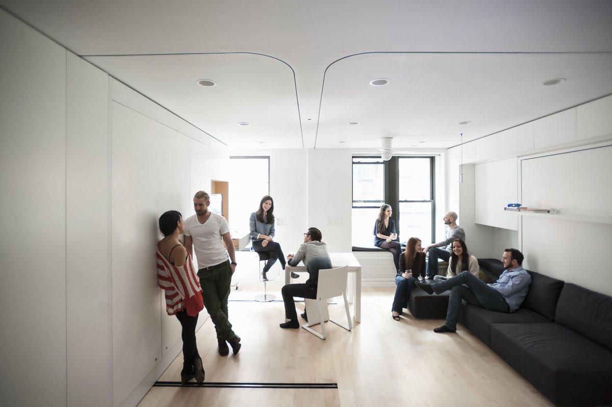 Жильё будущего: потрясающая миниатюрная квартира-трансформер