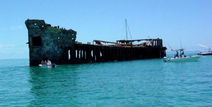 Бетонные корабли. Фото.