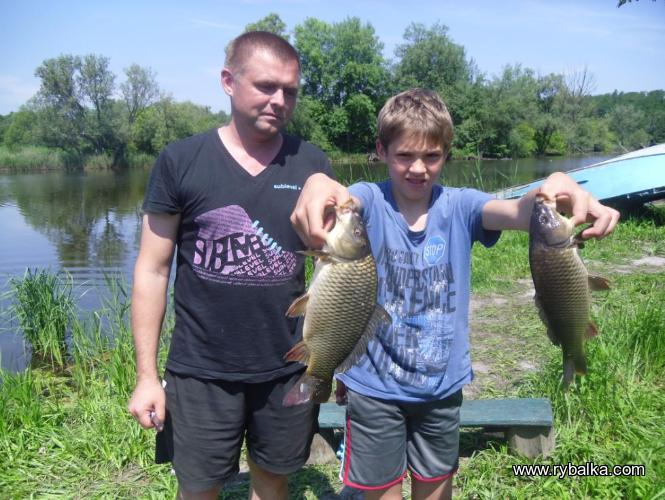 Ловля карпа и карася в Макеевке - отличное место для рыбалки и отдыха