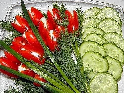 Овощные рецепты салатов на праздник