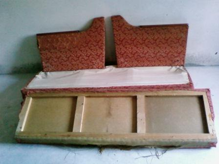 Как перетянуть диван-книжку мастер класс