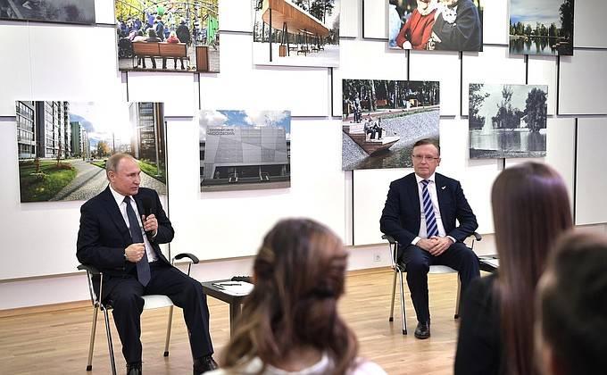 Президент Путин о модернизированном Ту-160: работает как часы