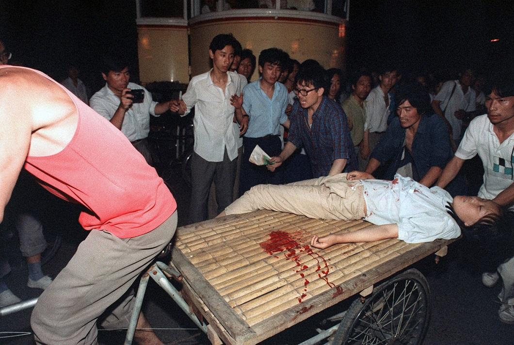 Tiananmen Square 23 Расстрел демонстрантов на площади Тяньаньмэнь 25 лет назад