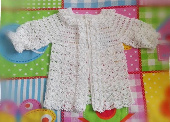 Ажурная блузка, кофточка крючком для начинающих с кокеткой для девочки
