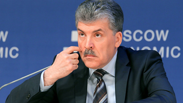 Грудинин - проект Ходорковского?